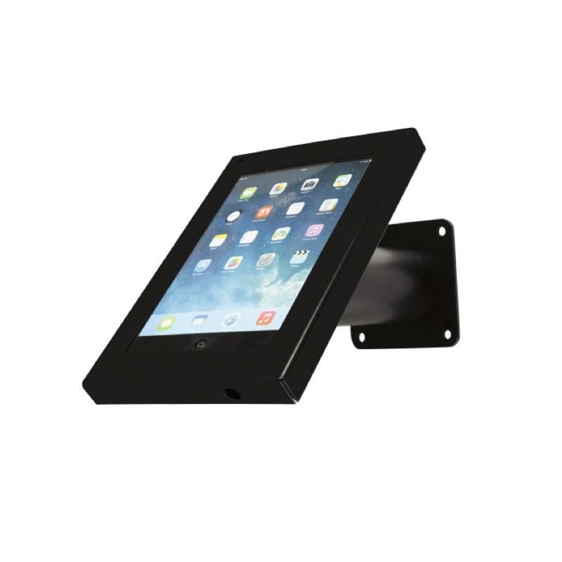 Muur- en tafelstandaard Securo iPad Mini zwart