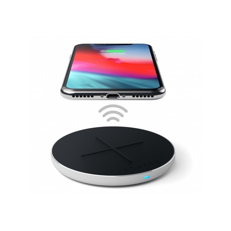 Satechi Aluminum PD & QC Wireless Charger zilver