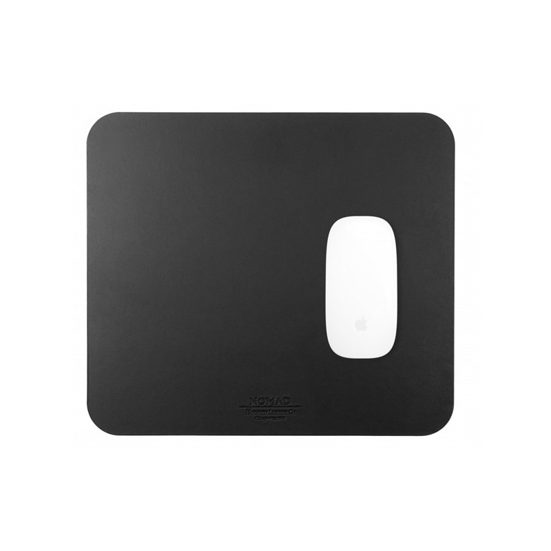 Nomad Mousepad Leather grijs
