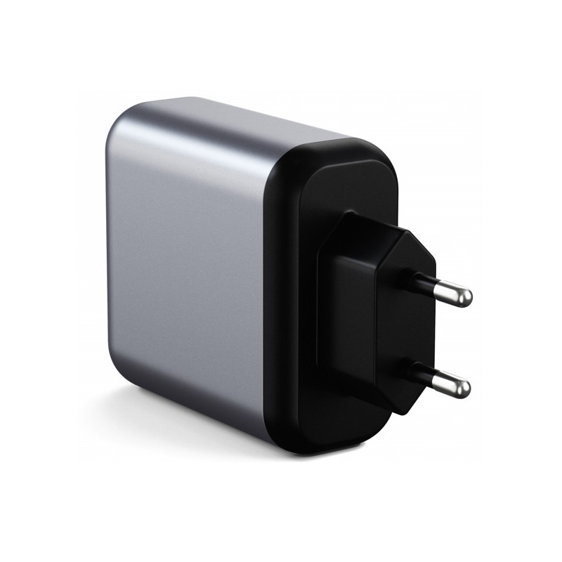 Satechi 30W Dual Port Wall Charger grijs
