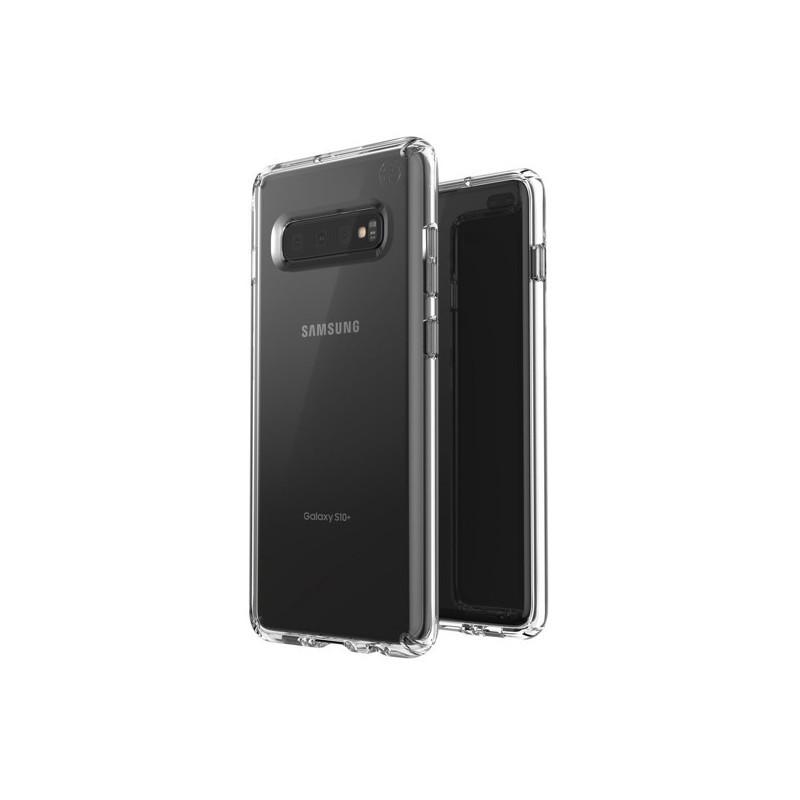 Speck Presidio Stay Samsung Galaxy S10 Plus clear