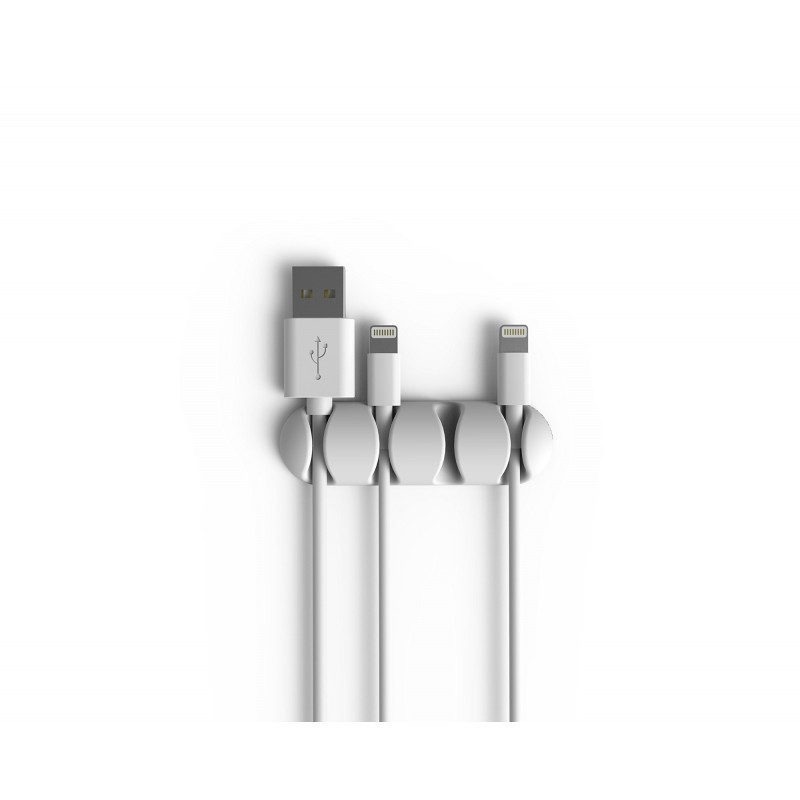 Bluelounge CableDrop multi 2-pack wit