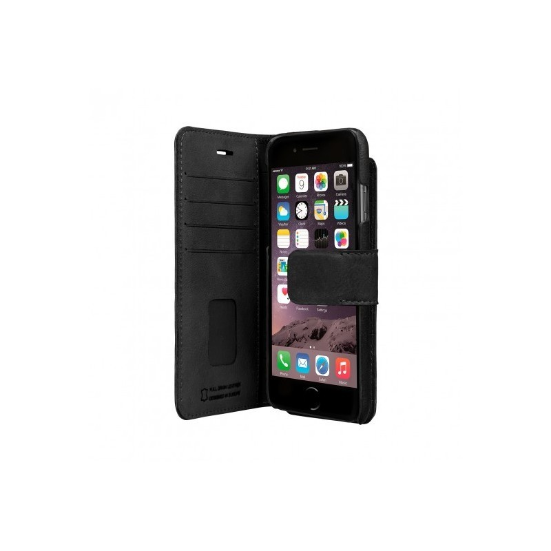 Bugatti Berlino Booklet case 2 in 1 iPhone 7 / 8 zwart