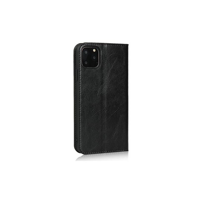 Casecentive Leren Wallet case Luxe iPhone 11 Pro Max zwart