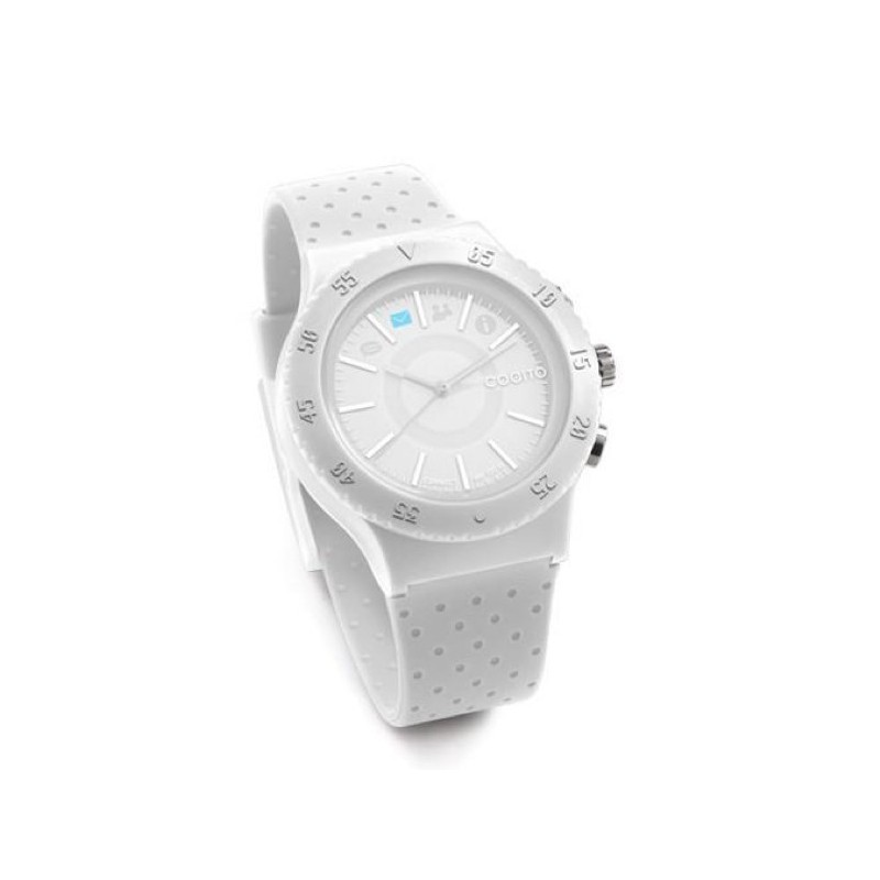 Cogito Smartwatch Fitness Tracker Pop White Crisp