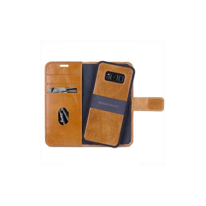 dbramante1928 Lynge 2 case Samsung Galaxy S8 Plus bruin