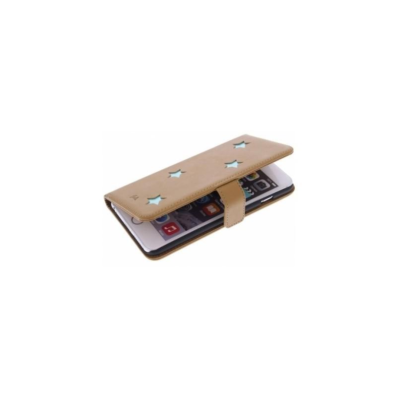 Fab. Aqua Reversed Star Book Case iPhone 6(S) Plus