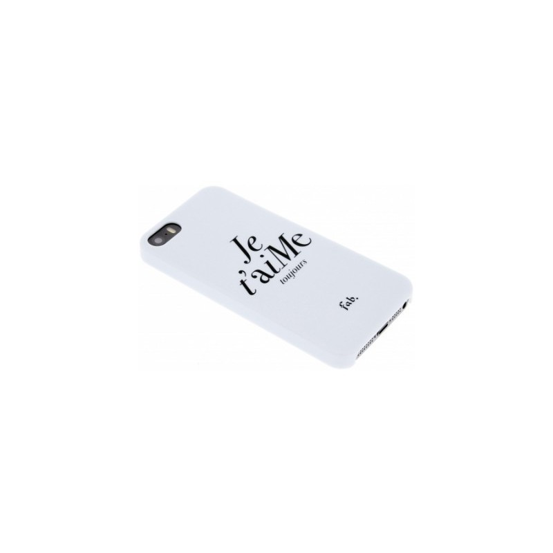 Fab Je t`aime hard hase iPhone 5(S)/SE wit