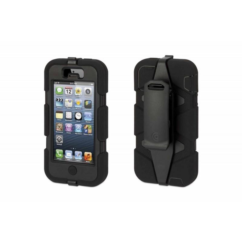 Griffin Survivor Extreme Duty hardcase iPhone 5 zwart