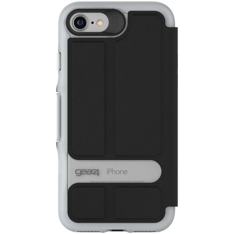 GEAR4 Oxford iPhone 7 zwart/zilver