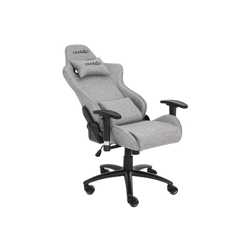 Gear4U Elite Fabric gaming chair grijs