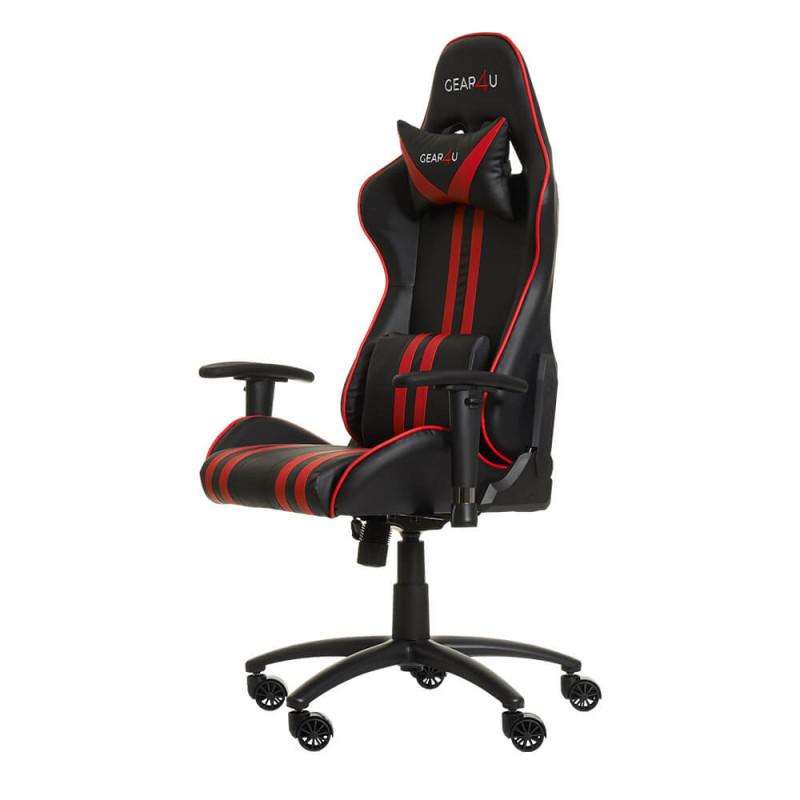 Gear4U Elite gaming chair rood / zwart