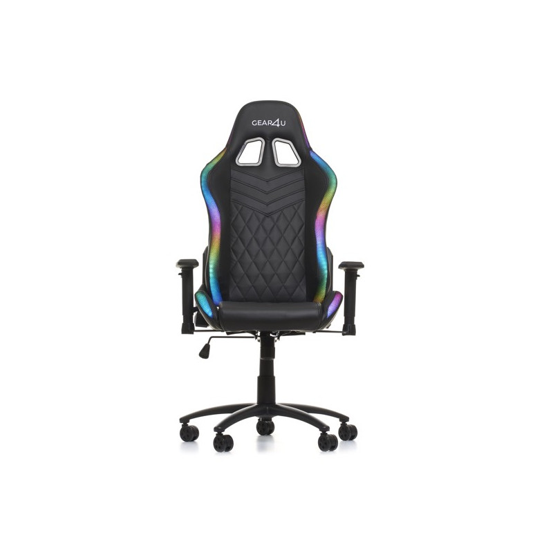 Gear4U Illuminated gaming chair RGB zwart