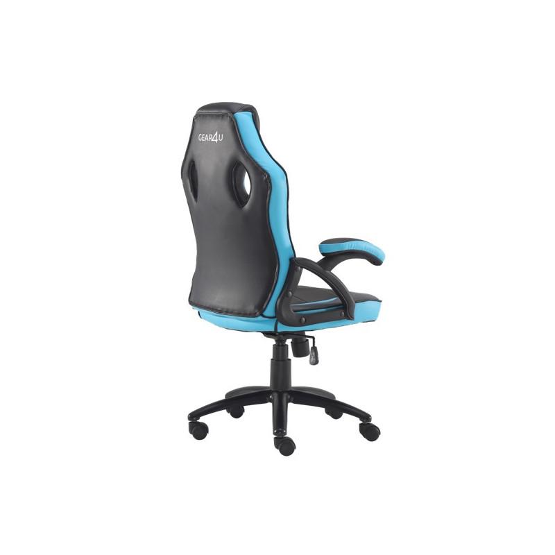 Gear4U Rook gaming chair blauw / zwart