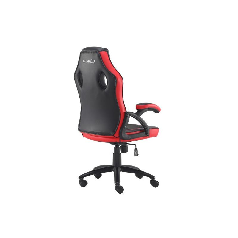Gear4U Rook gaming chair rood / zwart