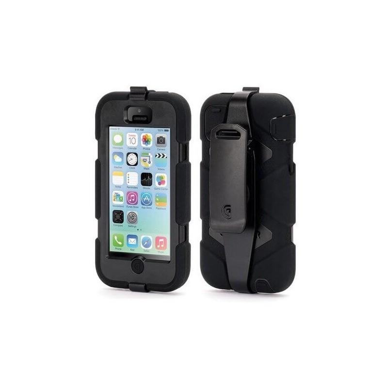 Griffin Survivor Extreme Duty hardcase iPhone 5C zwart (GB38141)