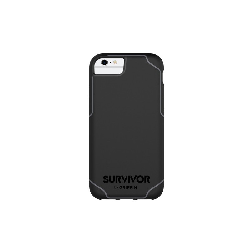 Griffin Survivor Journey iPhone 6/6S/7 zwart/grijs