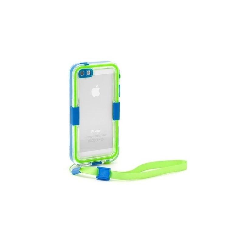 Griffin Catalyst Waterproof hardcase iPhone 5(S)/SE blauw/groen