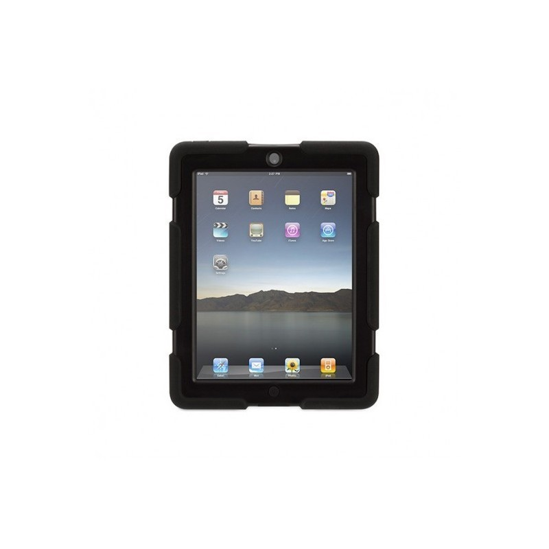 Griffin Survivor hardcase iPad 2/3/4 zwart