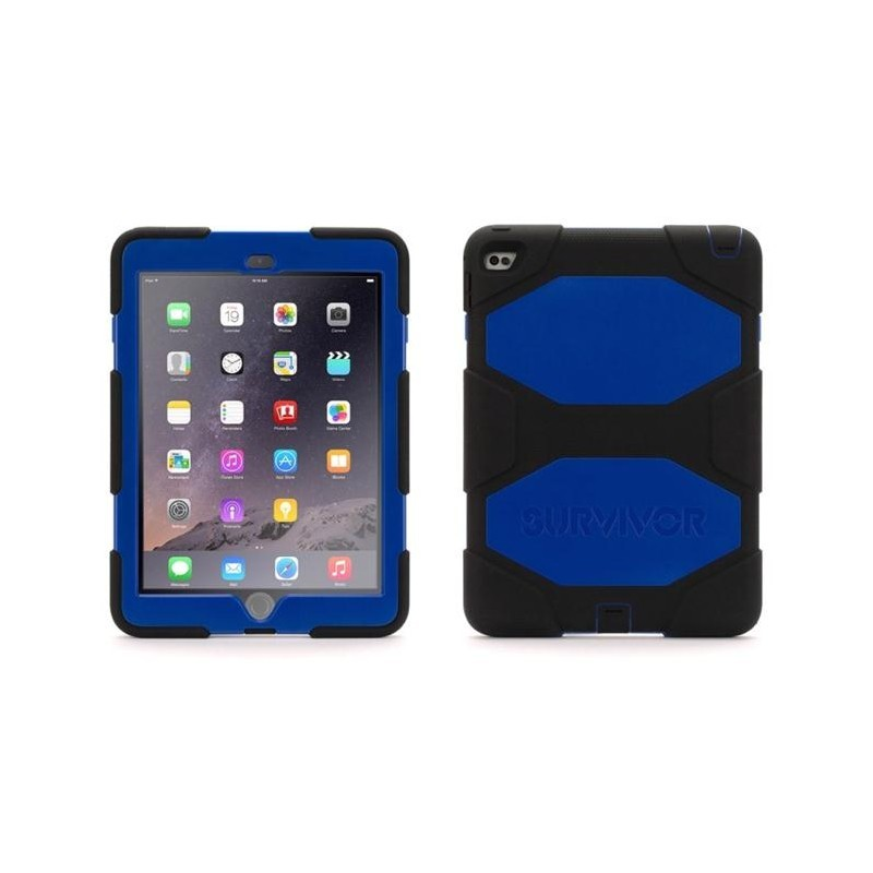 Griffin Survivor hardcase iPad Air 2 blauw