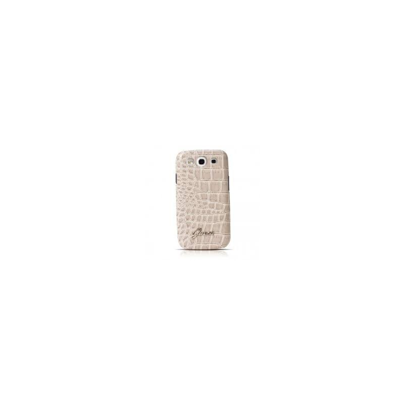 Crocodile Galaxy S3 Hardcase Shiny Beige
