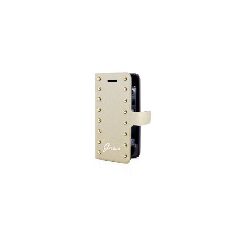 Guess Scarlett iPhone 5(S)/SE Folio Case Beige