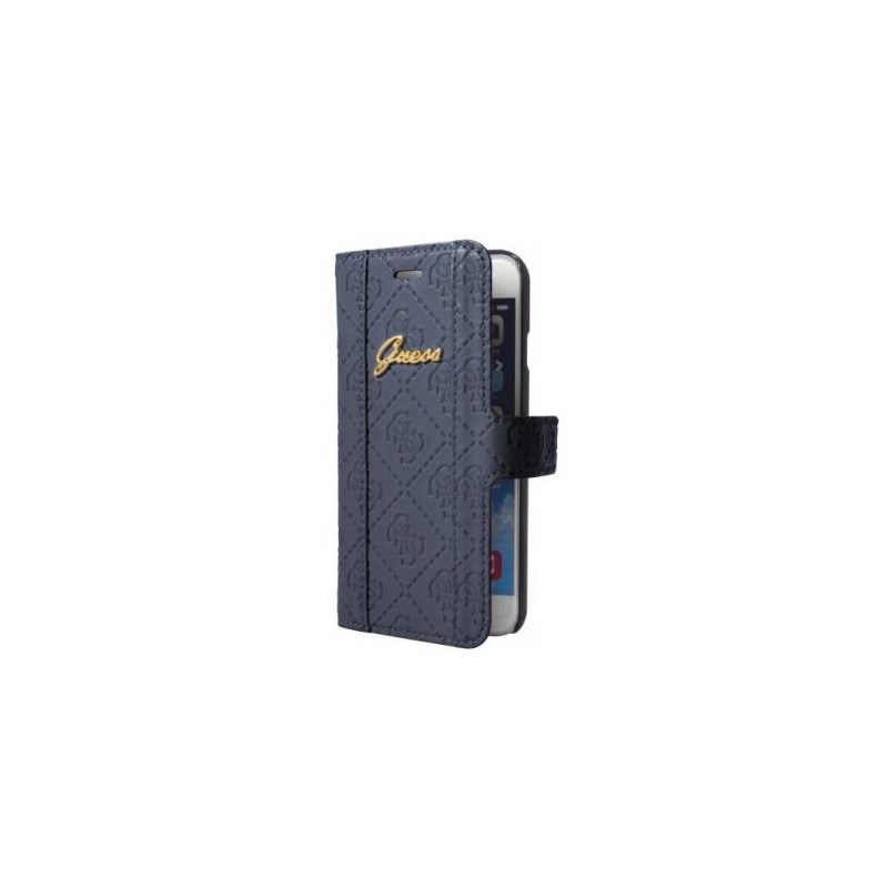 Guess Scarlett iPhone 6(S) Plus Folio Case BlueBerry