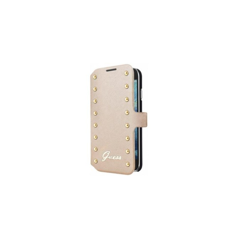 Guess Studded Galaxy S4 Folio Case goud