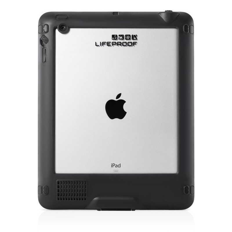 Lifeproof Nüüd case iPad zwart