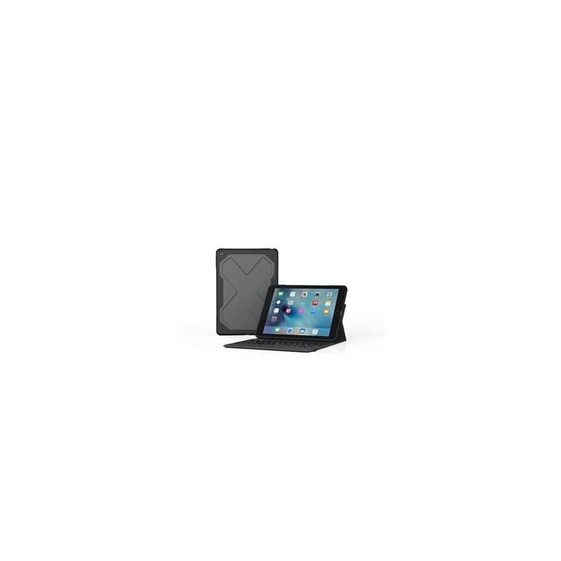 ZAGG Rugged Messenger Keyboard QWERTY iPad 2017 / 2018 zwart