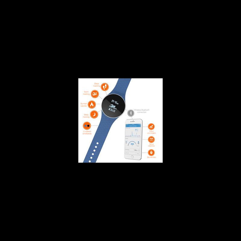 iHealth Wave Wireless activity tracker blauw