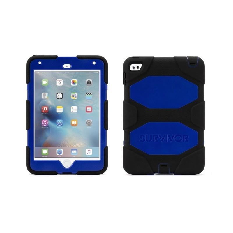 Griffin Survivor hardcase iPad Mini 4 blauw/zwart