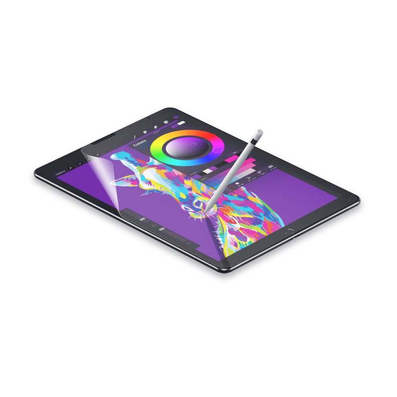 Casecentive Paper look and feel screenprotector iPad 10.2 2019 / 2020