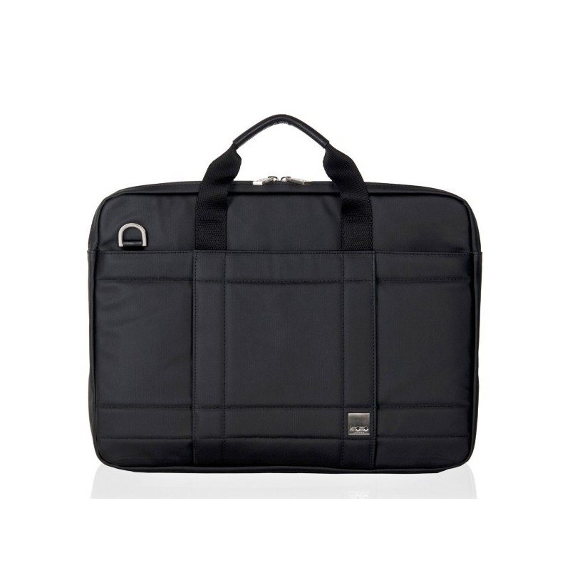 "Knomo Lincoln briefcase 15"" zwart"