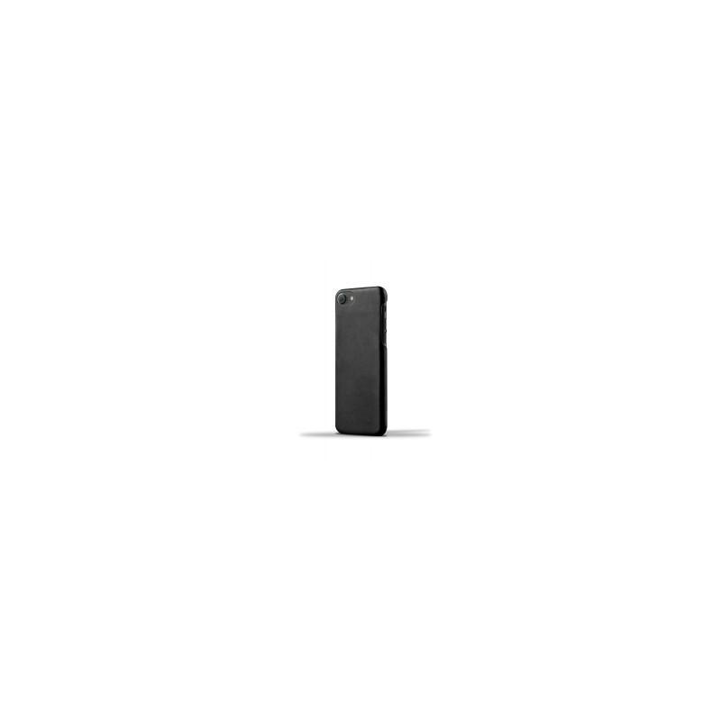 Mujjo Leather Case iPhone 7 / 8 zwart