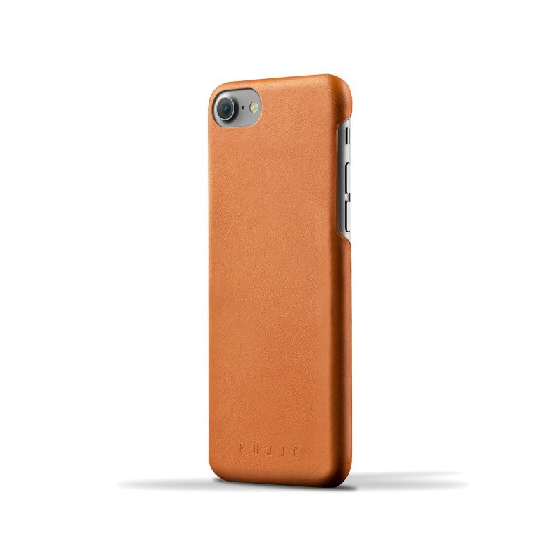 Mujjo Leather Case iPhone 7 / 8 bruin
