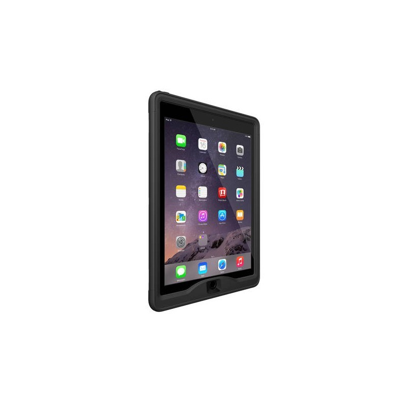 Lifeproof Nüüd case iPad Air 2 zwart