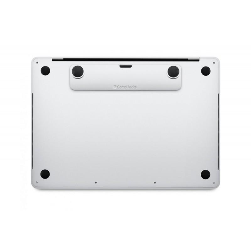 Maclocks Blade universeel Macbook & tablet + kabel met codeslot zilver