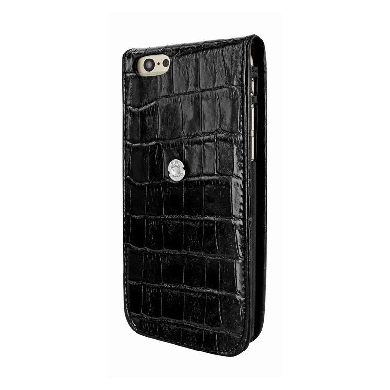 Piel Frama Magnetic iPhone 6(S) Croco zwart