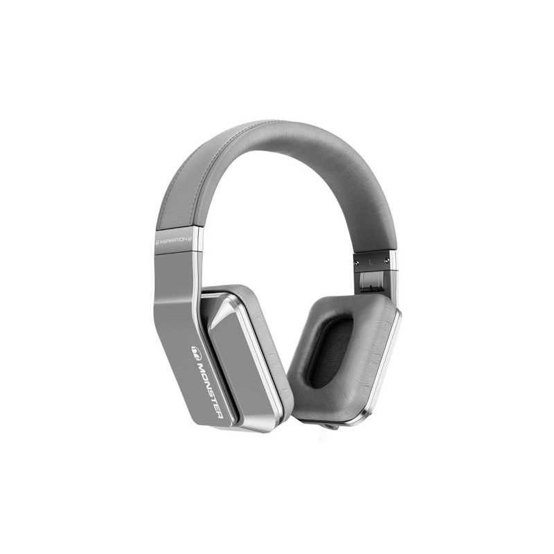 Monster Inspiration over-ear koptelefoon zilver
