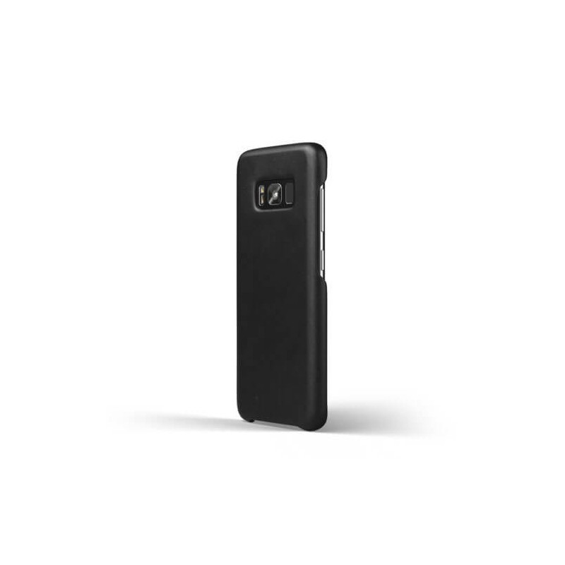 Mujjo Leather Case Galaxy S8 zwart