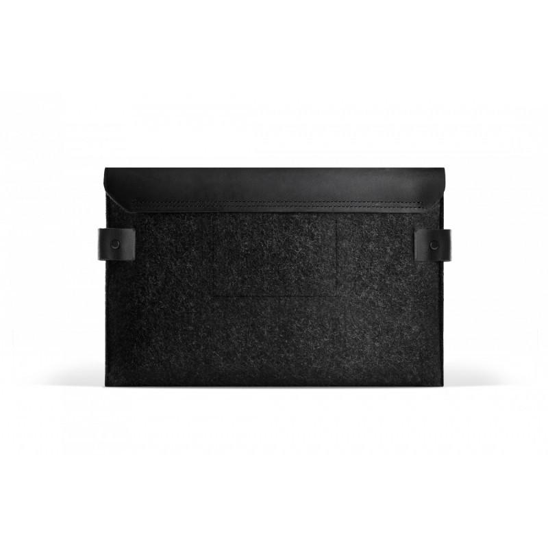 Mujjo Envelope iPad mini 1/2/3 Lederen Sleeve zwart