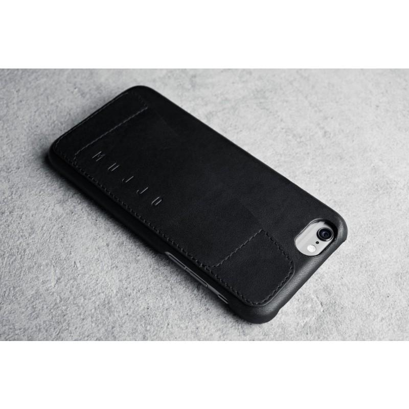 Mujjo Leather Case iPhone 6(S) zwart