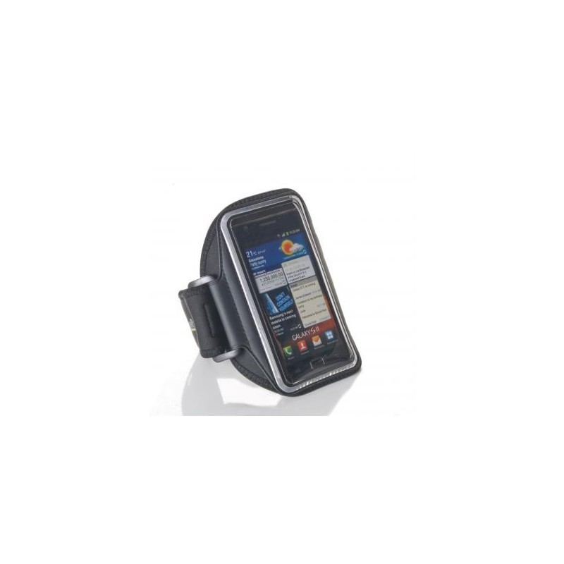 Muvit Ultra-Thin Universele Sport Armband iPhone 5(S)/SE zwart