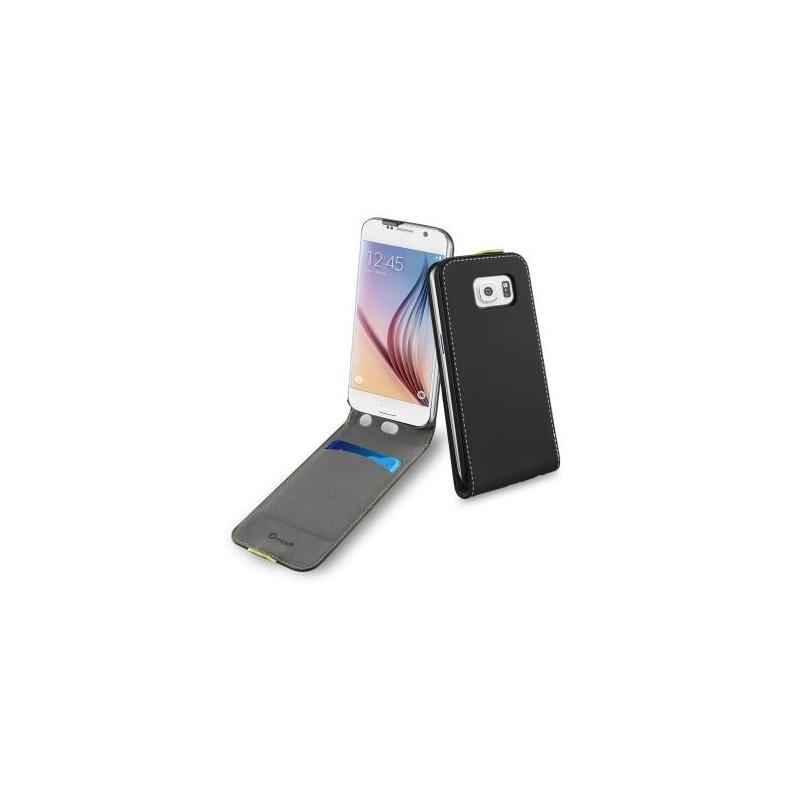 Muvit Wallet Slim Case Galaxy S6 zwart
