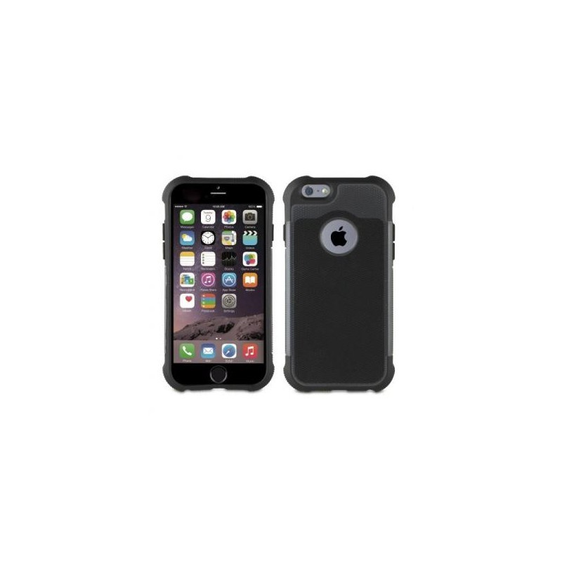 Muvit Anti-Shock Case iPhone 6(S) zwart/grijs
