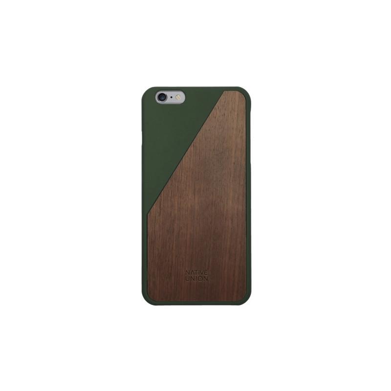 Native Union Clic Wooden iPhone 6 Plus / 6S Plus Olive