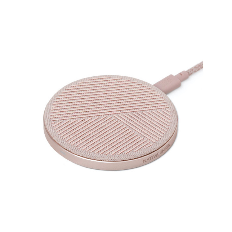 Native Union Drop Wireless Charger 10W roze