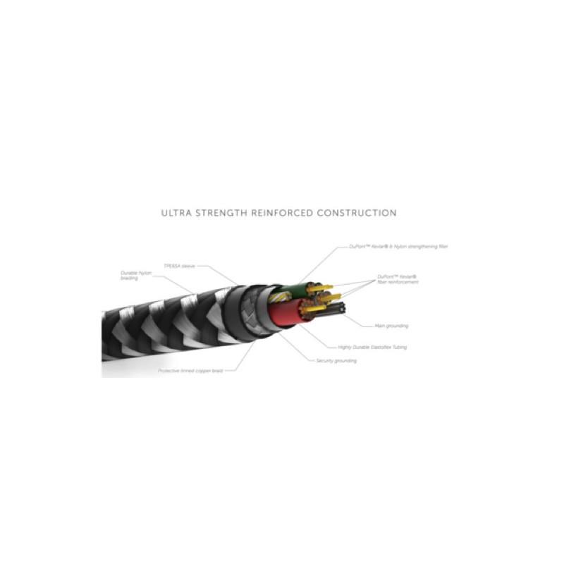 Native Union Kevlar Belt Lightning kabel 3m blauw