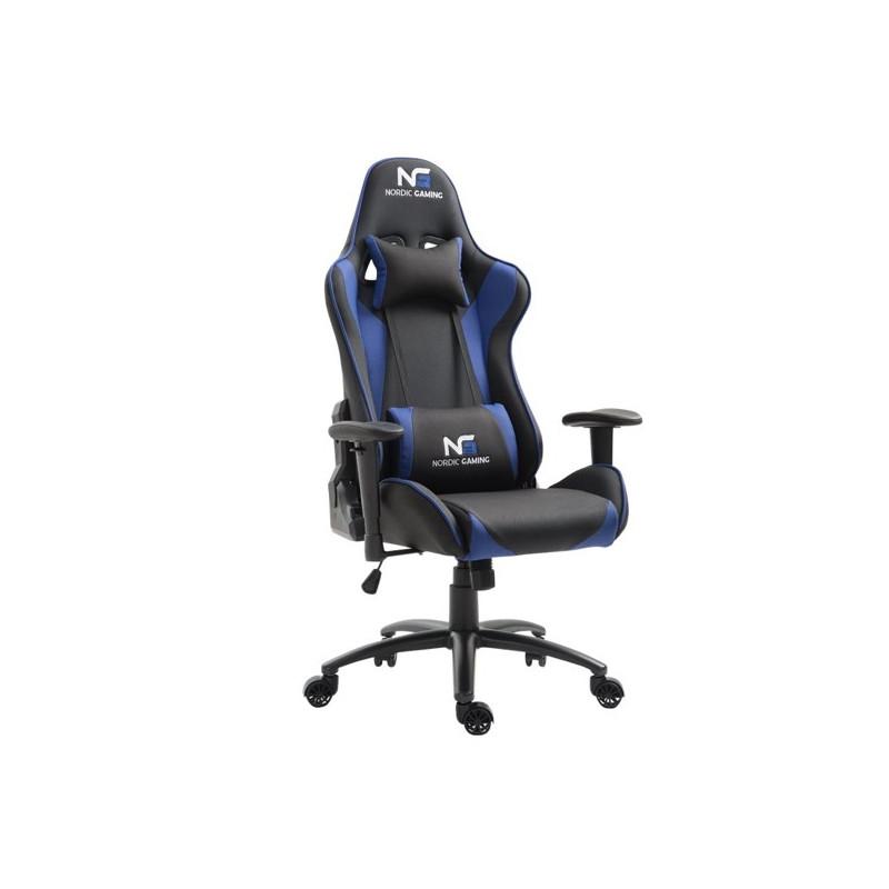 Nordic Gaming Racer gaming chair blauw / zwart